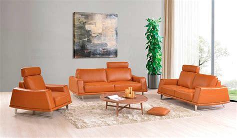 orange modern sofa orange leather sofa burnt orange leather sofa