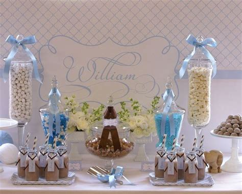 Christening Decorations For Baby Boy christening ideas for a boy baby baptism