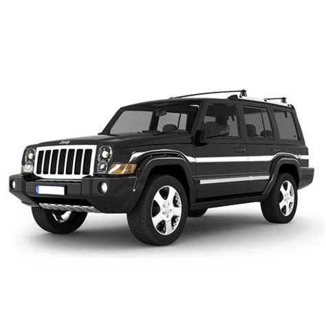 Jeep Models 3d Model Jeep Commander Suv Cgtrader
