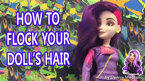 doll hairstyles high how to flock your doll s hair just like high venus