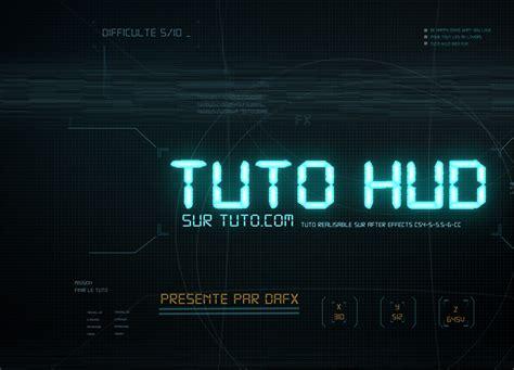 tuto interface h u d avec after effects avec after effects