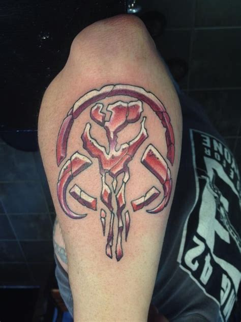 mandalorian tattoo designs 40 best tattoos images on ideas