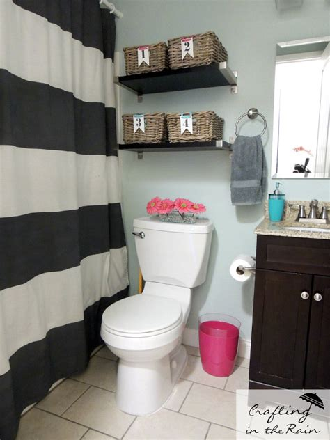cute bathroom storage ideas small bathroom ideas crafting in the rain
