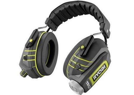 rugged headphones ryobi rp4530 rugged headphones revealed techgadgets