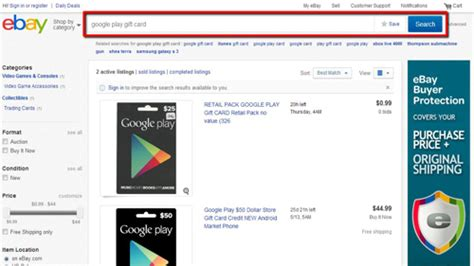 How To Buy Gift Card Online - how to buy gift card for google play howtech