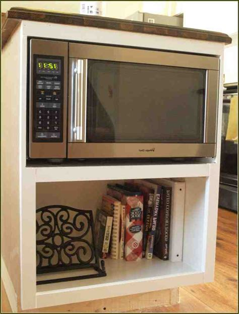 Cabinet With Microwave Shelf by Microwave Cabinet Shelf Home Furniture Design