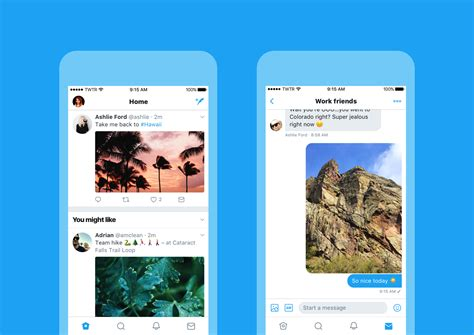 new twitter layout android twitter s latest redesign makes the ios app look more like