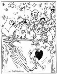 Jungle animals coloring pages gt gt disney coloring pages