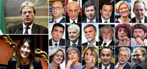 governo consiglio dei ministri gentiloni giura con i ministri suo governo 232 un renzi