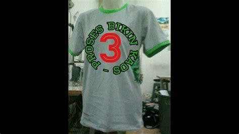 R R T Shirt Kaos Baper Janganlupabahagia tutorial membuat kaos oblong t shirt bagian 3 proses jahit rantai bahu