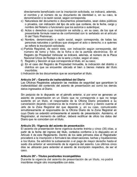 directiva n004 2004 sunarp res n 176 079 2005 s u n a r p s n 1
