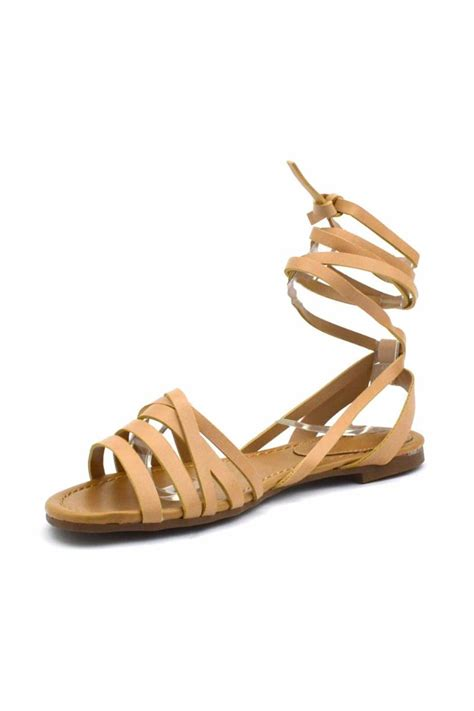 Wrap Sandals by Breckelle S Leg Wrap Sandal From California By That S