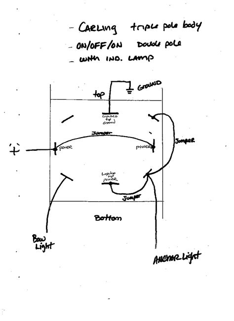 wiring diagram for navigation and anchor lights 47
