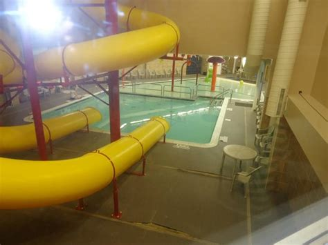 comfort inn plattsburgh view of the pool area from our hallway picture of