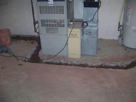 french drain   basement basement solutions