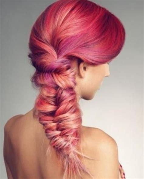 colored braiding hair crayon braids hair colors ideas
