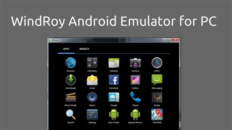 android emulator for pc 17 best android emulators for windows 10 pc 2017 updated tech tip trick
