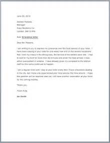 Grievance Letter Template Free Sample Grievance Letter Free Sample Letters