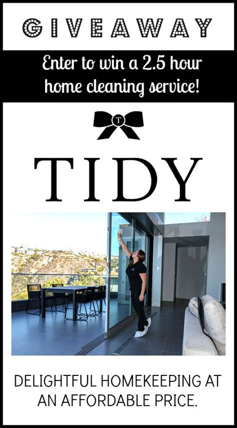 tidy cleaning service for oc homes to organize