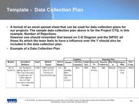 Plan Collection alfa img showing gt data collection plan sample