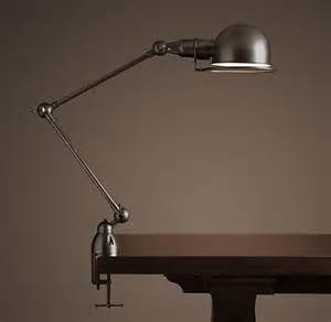 Atelier task table clamp lamp bronze traditional table lamps by