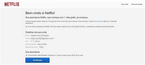 como criar conta no paypal 2015 novo layout do site youtube como assinar o netflix sem cart 227 o de cr 233 dito e pagar com