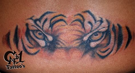 cat tattoo tattoos nature animal cat tiger eyes