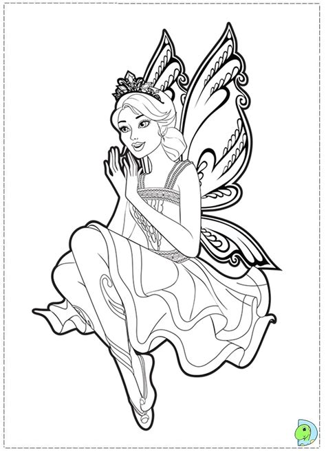 barbie fairy coloring pages az coloring pages