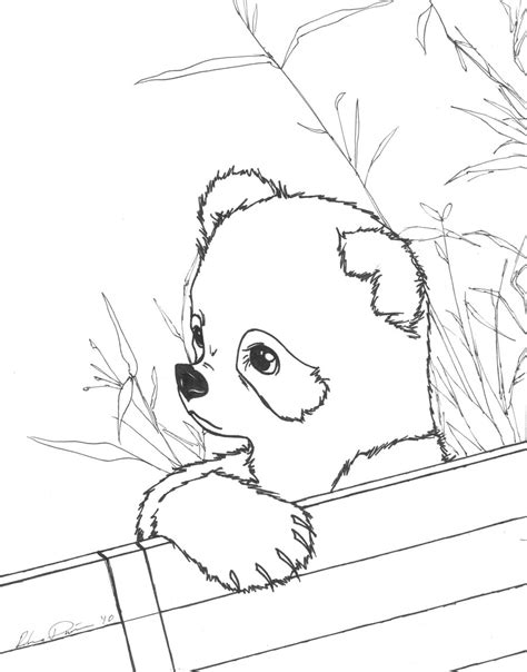 baby panda face coloring pages coloring pages