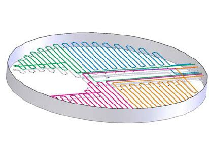 asphalt tank steam coil lay   scientific diagram