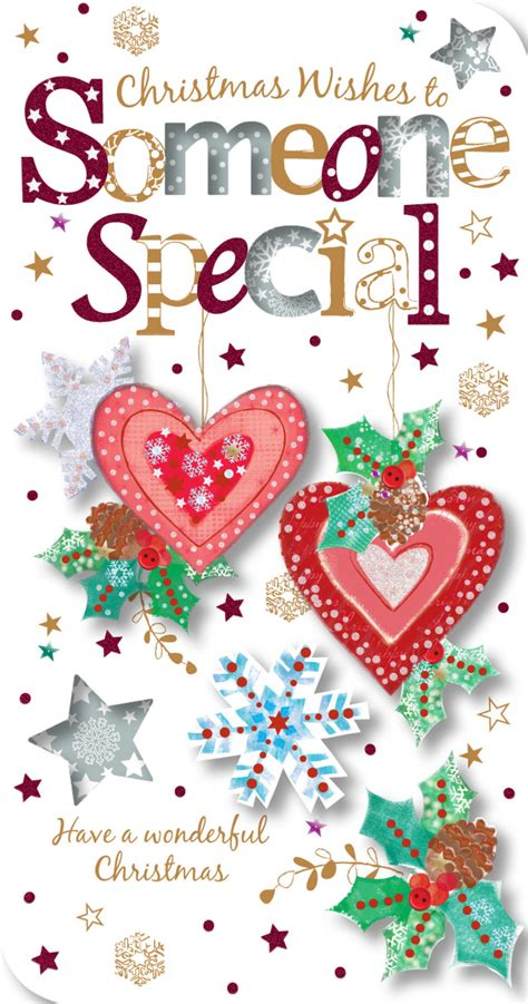Christmas Gift Card Specials - someone special christmas greeting card cards love kates