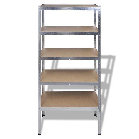 scaffale per garage articoli per scaffale a 5 mensole 180cm per garage e