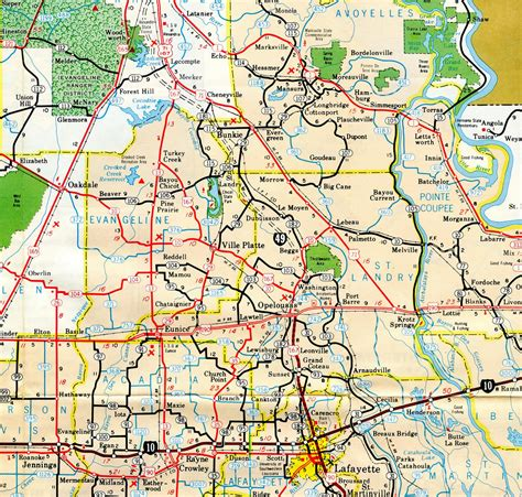 louisiana hwy map interstate guide interstate 49