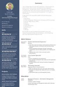 Linux Admin Sle Resume by Resume For Linux System Administrator