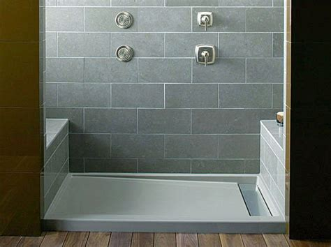 Shower Is Low by Low Maintenance Shower Pans R 246 M Architecture