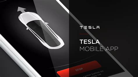 tesla apps tesla mobile app walkthrough