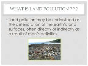 Landscape Pollution Definition Land Pollution