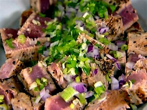 ahi tuna steak recipes food network tuna salad recipe ina garten salad recipes and barefoot
