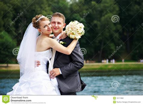 And Couples Couples At Wedding Walk Stock Photography Image