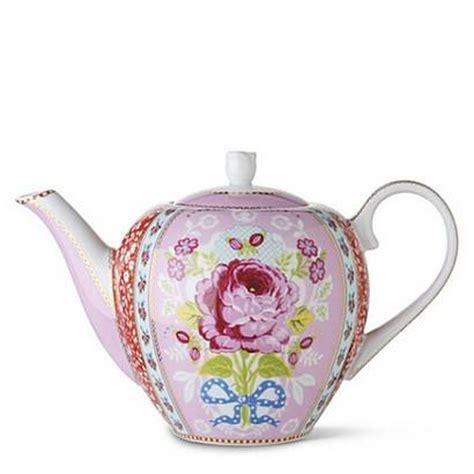 pip studio shabby chic pink teapot