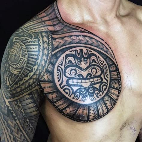 unusual tribal tattoos 80 tribal shoulder tattoos for masculine design ideas