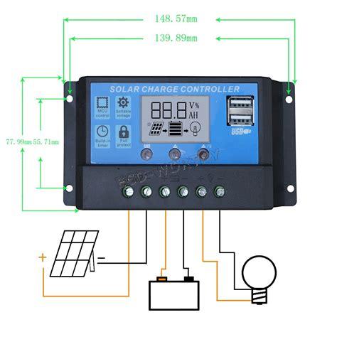 Solar Charge Controller Pwm 20a Usb 5v Panel Surya Modul Solar Cell Eco Worthy 20w Watt 12v Solar Panel With Pwm 20a Charge