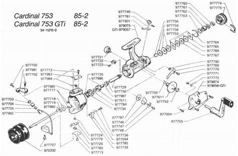 fishing reel parts diagram daiwa fishing reel schematics fishing reel parts