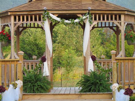 Gazebo Decorations by Popular Gazebo Wedding Decorations With Floral Gazebo