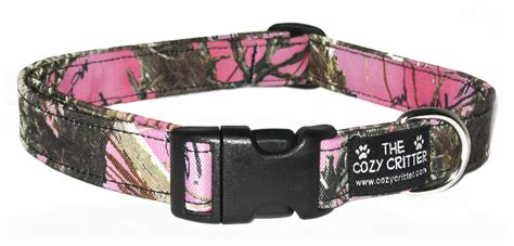 camo puppy collar pink mossy camo canvas custom camouflage collar all sizes available ebay