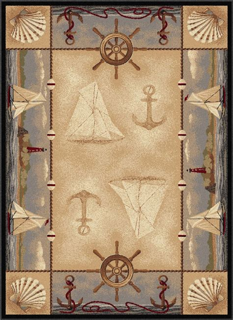 Nautical Area Rug Nautical Area Rugs Compass Nautical Area Rugs Coastal Views Area Rug Nautical Lighthouse