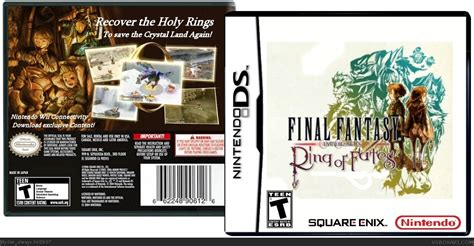 Ring Of Fates Nds Nintendo chronicles ring of fates nintendo ds box cover by like always