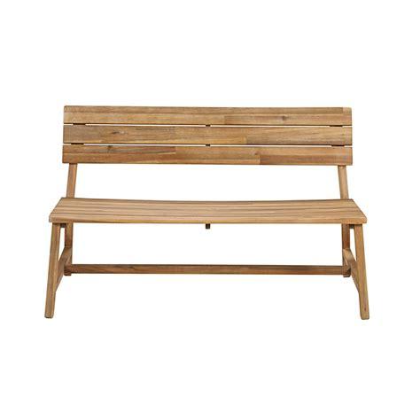 panca legno giardino panca da giardino 2 posti in legno massello di acacia