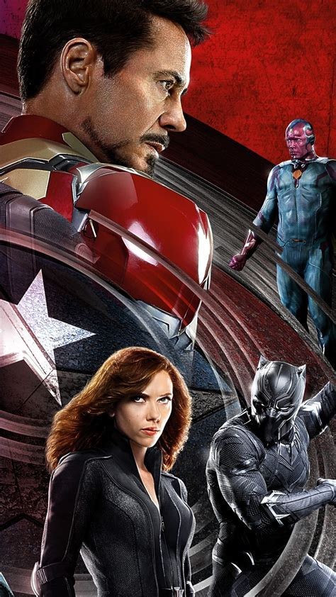 Wallpaper Captain America 3: civil war, Iron Man, Marvel