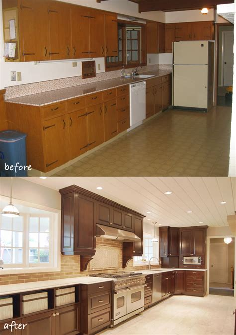 before after updating a 1950s daylight ranch jason